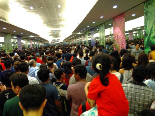Bayfront MRT Silvester