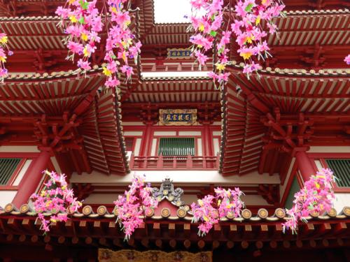 Buddhazahn Tempel Eingang