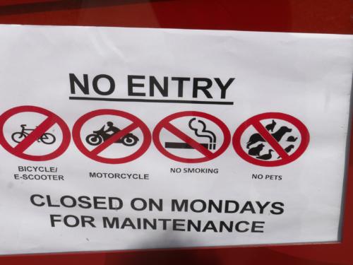 Kein Zutritt für Schnecken