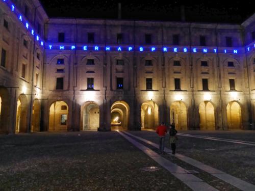 Parma Palazzo dellla Pilotta Nacht