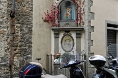 Strassenaltar Florenz