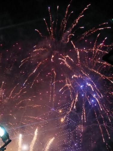 Singapur Feuerwerk
